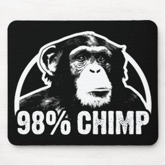 Tapis De Souris Chimpanzé de 98 pour cent