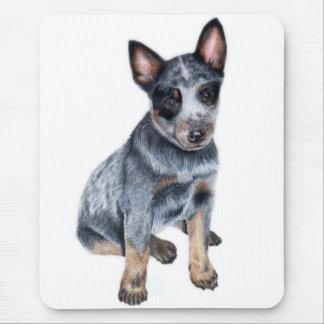 Tapis De Souris Chiot australien de chien de bétail