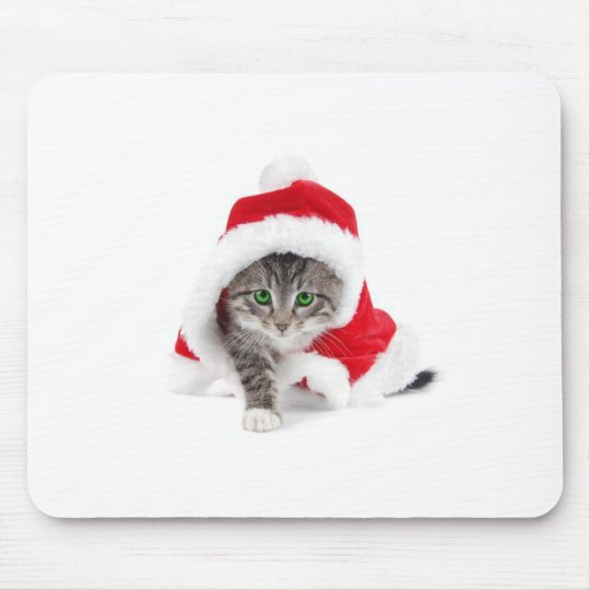 Tapis De Souris Christmas cat