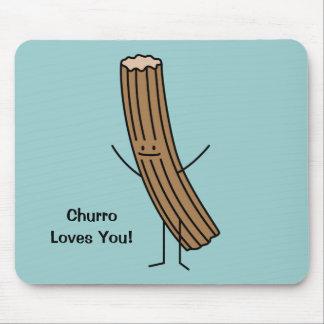 Tapis De Souris Churro vous aime !