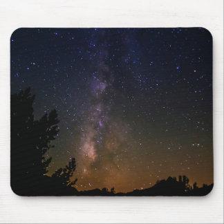 Tapis De Souris Ciel nocturne de manière laiteuse, la Californie