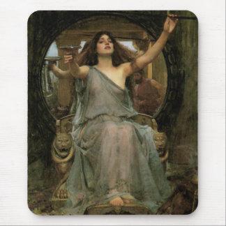 Tapis De Souris Circe offrant la tasse à Ulysse par le château