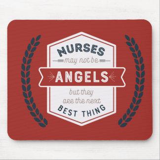 Tapis De Souris Citation de l'inspiration de l'infirmière