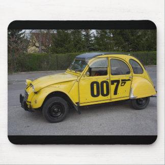 Tapis De Souris Citroën jaune 2CV