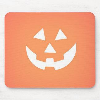 Tapis De Souris Citrouille déplaisant Halloween Mousepad