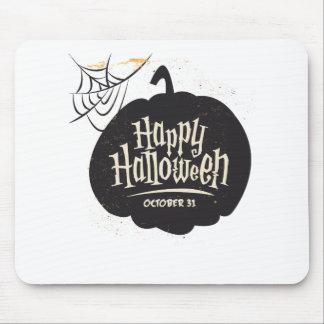 Tapis De Souris Citrouille heureux de Halloween