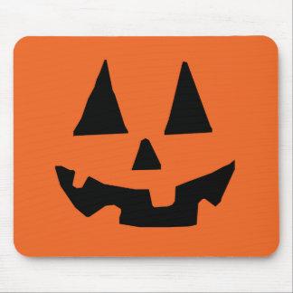 Tapis De Souris Citrouille Jack-o'-lantern de Halloween