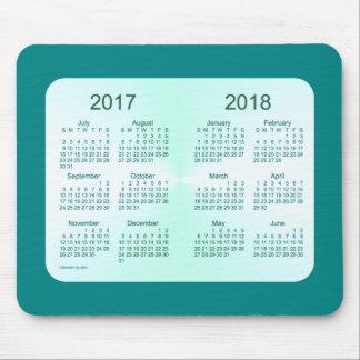 Tapis De Souris Classe de 2018 calendriers turquoises par Janz