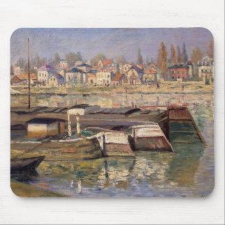 Tapis De Souris Claude Monet   la Seine chez Asnieres, 1873