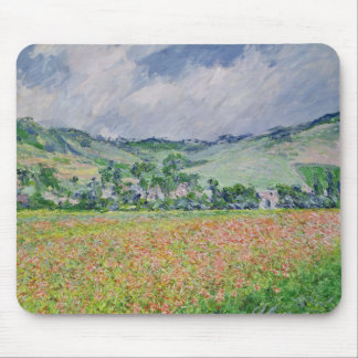 Tapis De Souris Claude Monet | le champ de pavot près de Giverny,