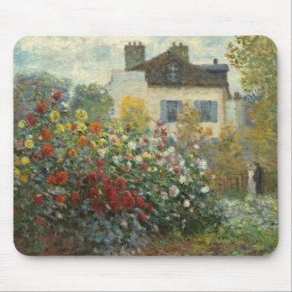 Tapis De Souris Claude Monet | le jardin de l'artiste à Argenteuil