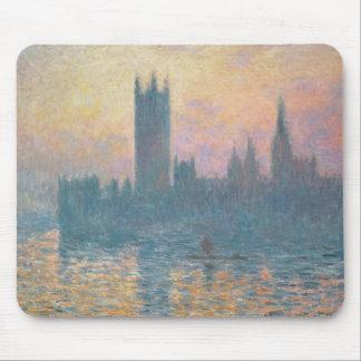 Tapis De Souris Claude Monet | les Chambres du Parlement, coucher