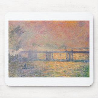 Tapis De Souris Claude Monet - Saint Louis de pont croisé de