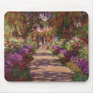 Tapis De Souris Claude Monet | une voie dans le jardin de Monet