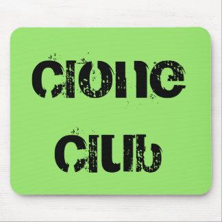 Tapis De Souris Club de clone de noir d'orphelin d'exposition de
