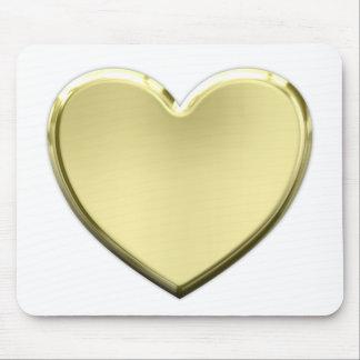 Tapis De Souris Coeur d'or