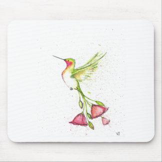 Tapis De Souris colibri de queue de fleur
