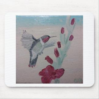 Tapis De Souris Colibri douceurs de peinture à l'huile '