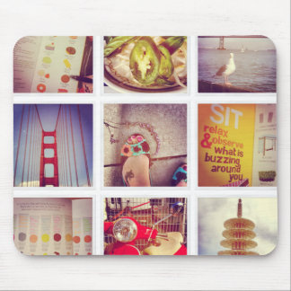 Tapis De Souris Collage fait sur commande Mousepad de photo