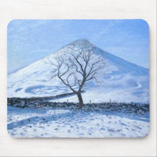 Tapis De Souris Colline et arbre Derbyshire 2008