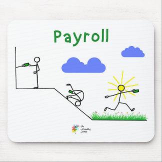 Tapis De Souris Comptable Mousepad - art de feuille de paie
