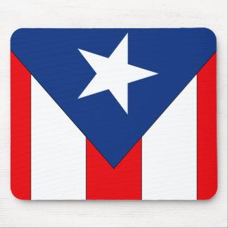 Tapis De Souris Conception de drapeau de Puerto Rico2 -