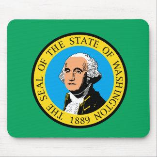 Tapis De Souris Conception de drapeau de WASHINGTON -