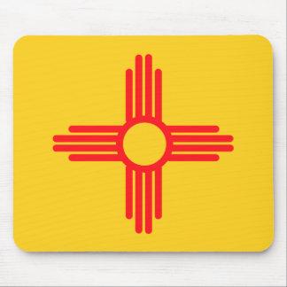 Tapis De Souris Conception de drapeau du NOUVEAU MEXIQUE -