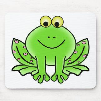 Tapis De Souris conception de vert d'inspiration d'art de