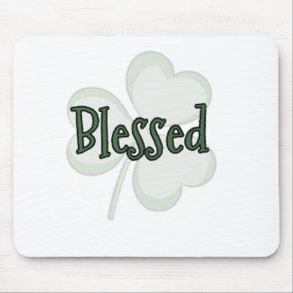 Tapis De Souris Conception du jour de St Patrick béni