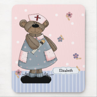 Tapis De Souris Conception nommée Mousepad d'ours de nounours de