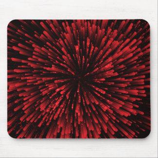 Tapis De Souris Conception rouge fraîche d'explosion