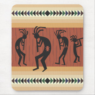 Tapis De Souris Conception tribale de Kokopelli