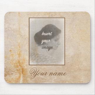 Tapis De Souris Conception vintage avec votre photo. Ajoutez votre