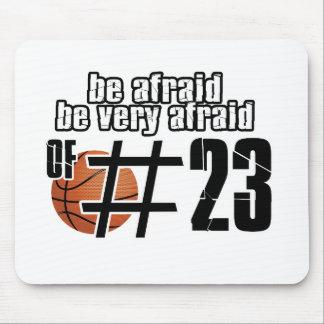 Tapis De Souris Conceptions de basket-ball du numéro 23