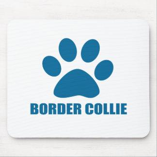 TAPIS DE SOURIS CONCEPTIONS DE CHIEN DE BORDER COLLIE