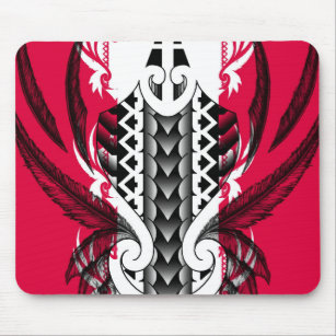 tapis de souris motif tribal maori polynesien tatouage. Black Bedroom Furniture Sets. Home Design Ideas