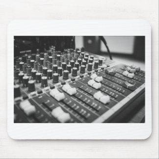 Tapis De Souris Console blanche noire noire et blanche audio de