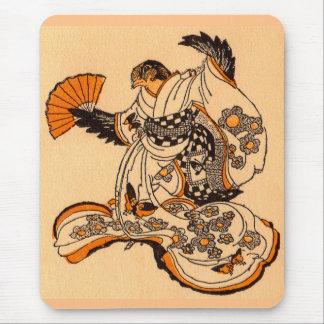 Tapis De Souris Conte de fées japonais le moineau de coupe de