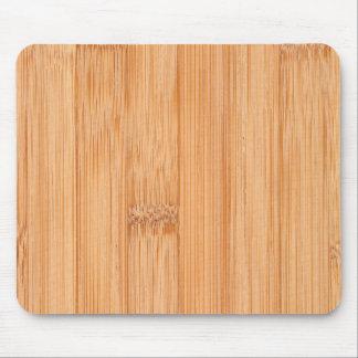 Tapis De Souris Copie en bois en bambou brun clair fraîche