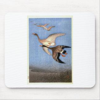 Tapis De Souris Copie vintage des oies de vol