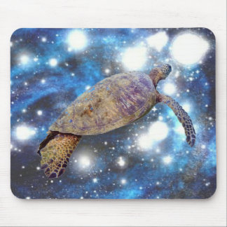 Tapis De Souris Copies hawaïennes d'art de tortue de mer