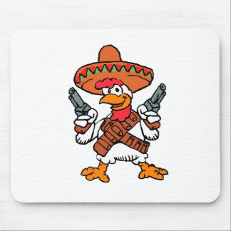 Tapis De Souris Coq mexicain
