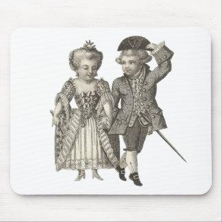 Tapis De Souris Costumes vintages de Marie Antoinette Louis XVI