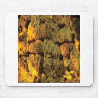 Tapis De Souris couche de pierres jaunes