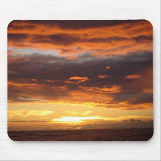 Tapis De Souris Coucher du soleil dans Lahaina dans Maui Hawaï