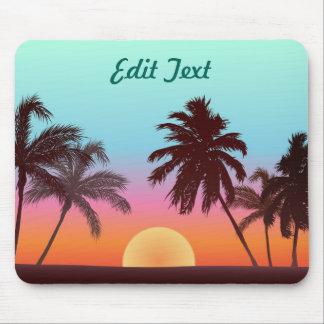 Tapis De Souris Coucher du soleil de la Floride