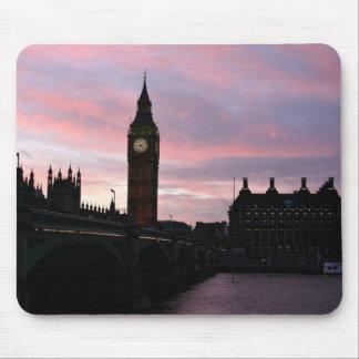 Tapis De Souris Coucher du soleil de Londres