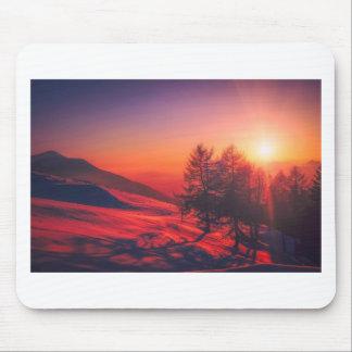 Tapis De Souris Coucher du soleil de soirée de Milou