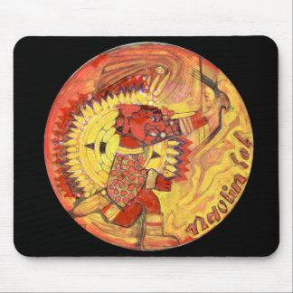 Tapis De Souris Couleur de Naolin - Mexique stupéfiant Mousepad